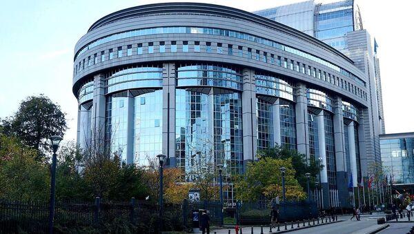 Building of the European Parliament in Brussels - Sputnik International