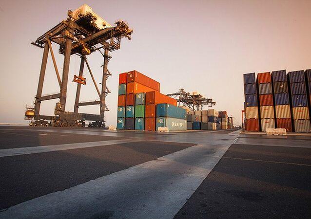 Omani port of Sohar
