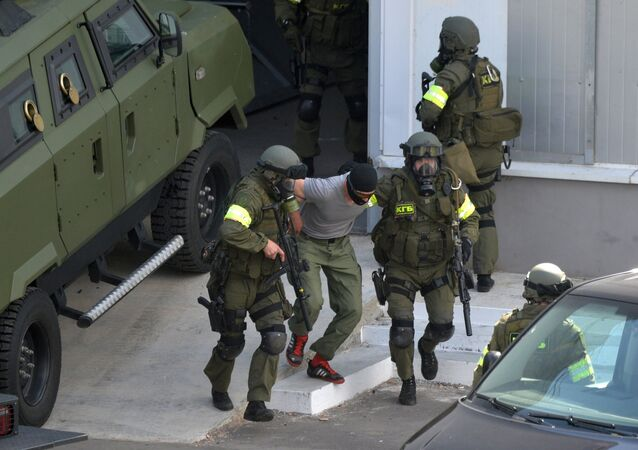 Belarusian KGB task force take part in anti-terrorist drill