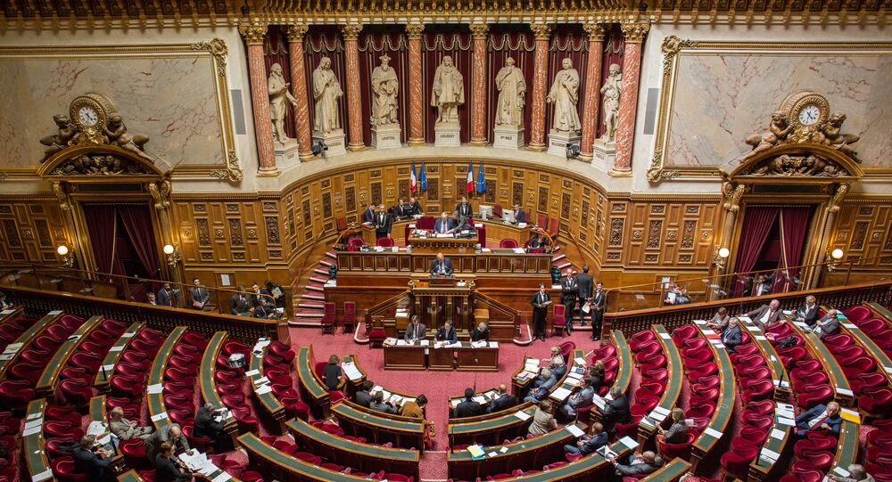 The French Senate (the upper chamber of the Parliament)