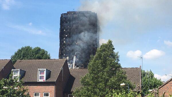 Grenfell Tower fire - Sputnik International