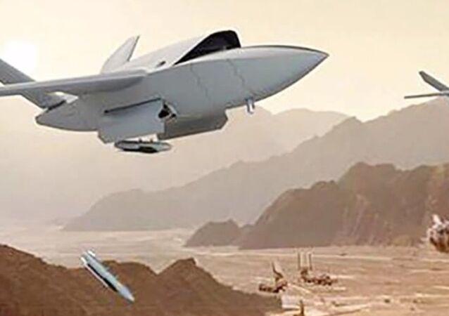 Robotic drpne UTAP-22 Mako, developed Kratos Defense & Security Solutions