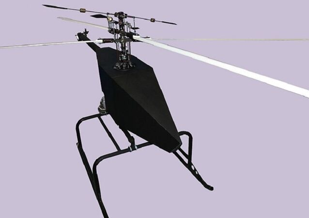 New model of an unmanned aerial vehicle (UAV) of the 'Voron 777-1' helicopter type