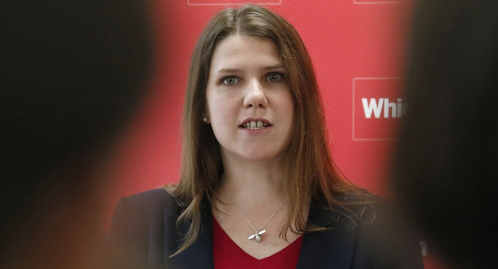 Jo Swinson during a news conference about the consumer payday loan market in London March 6, 2013.