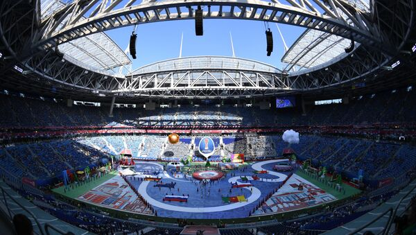 The opening ceremony of the 2017 Confederations Cup in St. Petersburg - Sputnik International