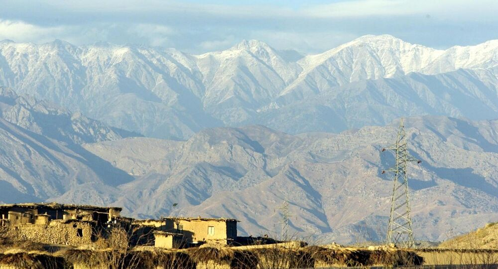 Tora Bora mountains in Afghanistan are seen from the Pakistani village of Arawali. (File)