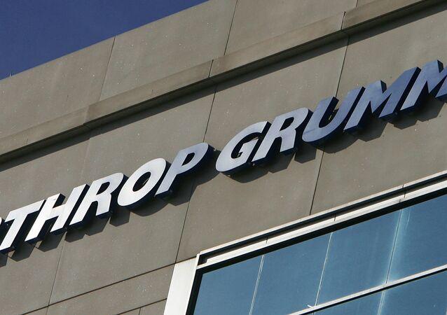 Northrop Grumman logo is shown at their Reston, Virginia, office. (File)