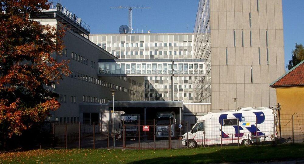 The Sveriges Radio building in Stockholm