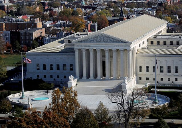 A general view of the U.S. Supreme Court building in Washington, U.S., November 15, 2016
