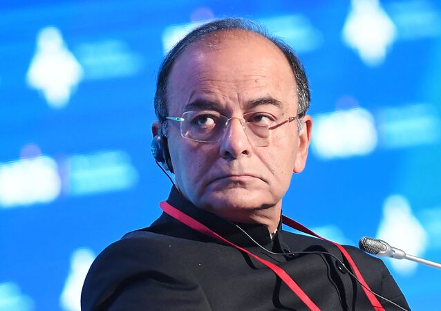 Indian Defense Minister Arun Jaitley at the 6th Moscow Conference on International Security (File)