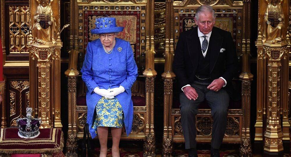 Britain's Queen Elizabeth and Prince Charles attend the State Opening of Parliament in central London, Britain June 21, 2017.
