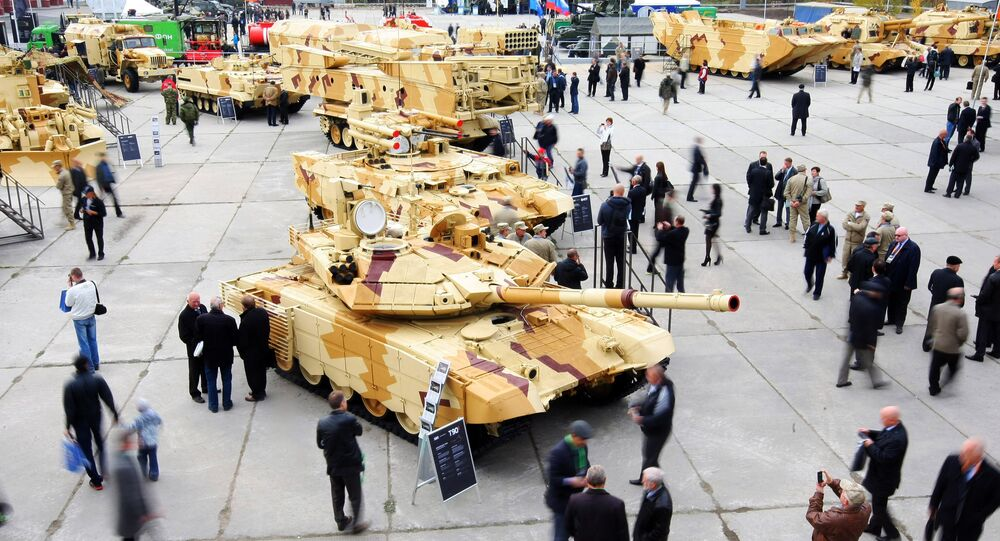 Ninth International Exhibition of Arms, Military Equipment and Ammunition Russia Arms Expo 2013