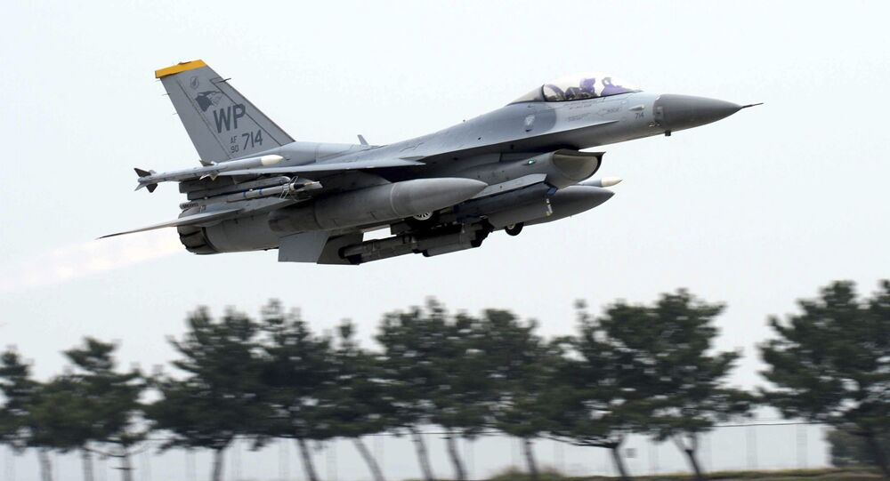 US Air Force's F-16 fighter jet
