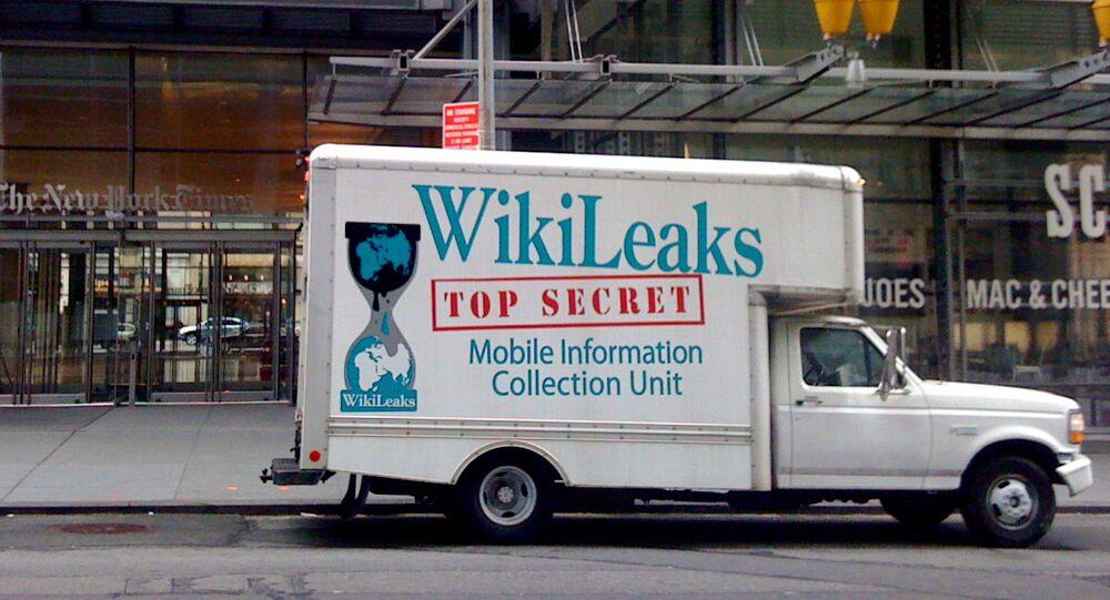 Wikileaks Truck