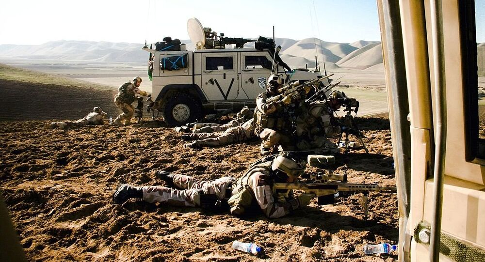 Norwegian soldiers from Telemark Battalion  in Afghanistan engage enemies from a long distance