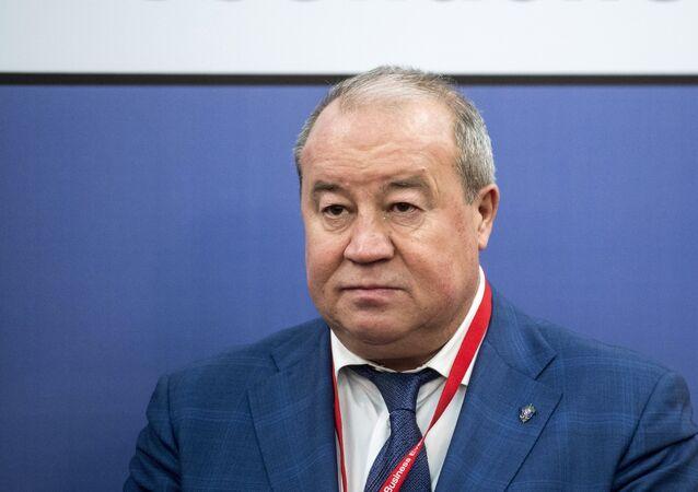 Andrei Novikov, Head of the CIS Anti-Terrorist Center. File photo