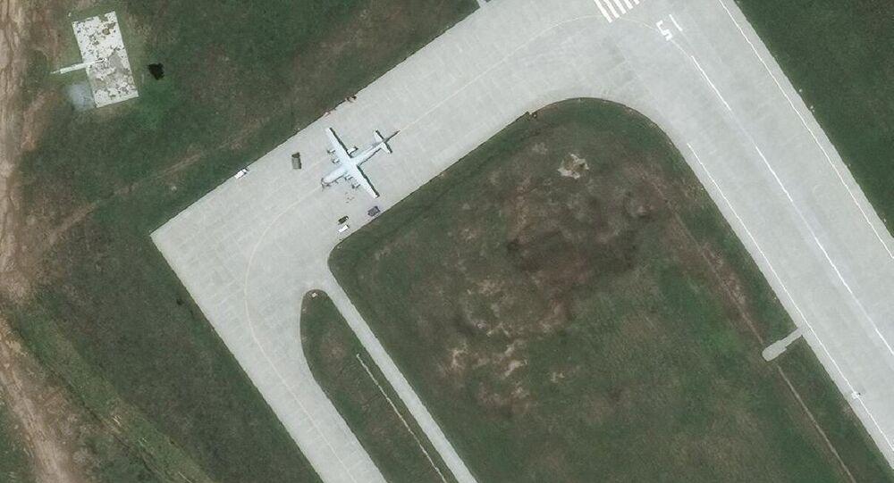Sub-Hunter at Lingshui Air Base