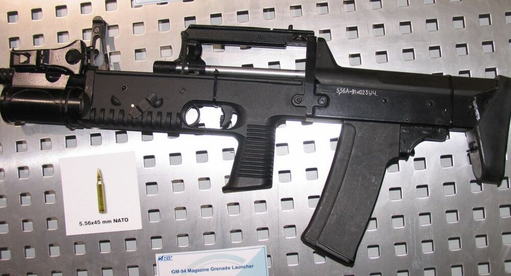 5,56 mm A-91 assault rifle