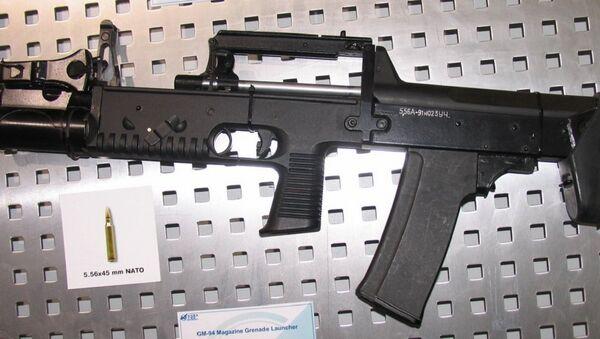 5,56 mm A-91 assault rifle - Sputnik International