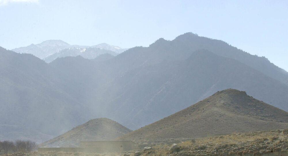 Village of Madakhel in northeastern Afghanistan, near the mountain region of Tora Bora. (File)