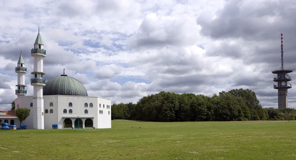 Malmoe's mosque, southern Sweden.