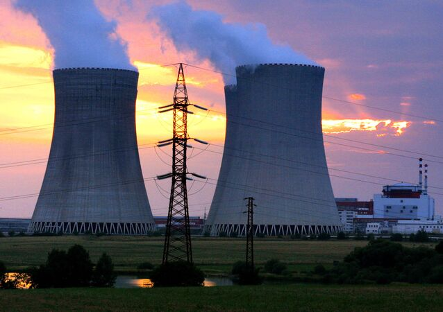 Czech Republic's Temelin nuclear power plant, 60 kilometers (38 miles) from the Czech border with Austria and Germany, southern Bohemia. (File)