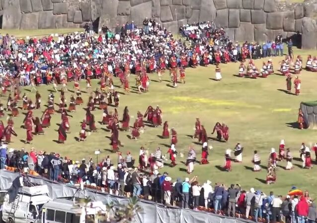 Inca Sun Festival In Peru
