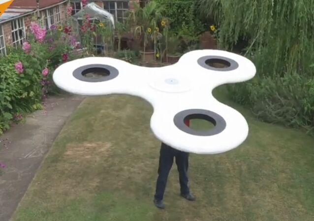 Largest Fidget Spinner