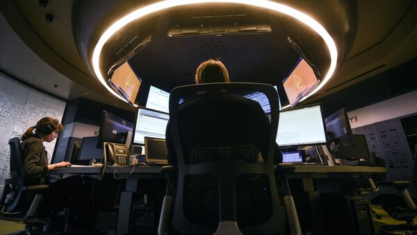 Kaspersky Lab employees at work in their office, Moscow - Sputnik International