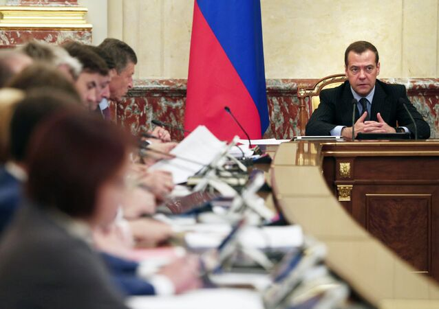 The Russian government will submit for President Vladimir Putin's consideration a proposal to extend response measures to EU sanctions for the entirety of 2018, Prime Minister Dmitry Medvedev said Thursday.