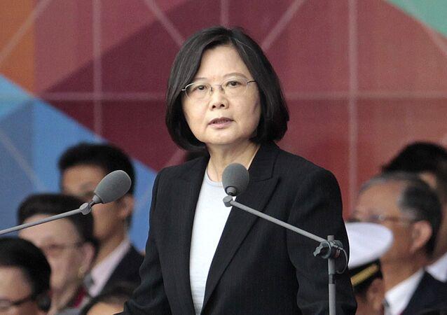 Taiwan's President Tsai Ing-wen (File)