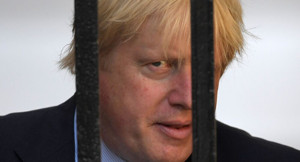Britain's Foreign Secretary, Boris Johnson, arrives in Downing Street, in central London, Britain June 15, 2017.