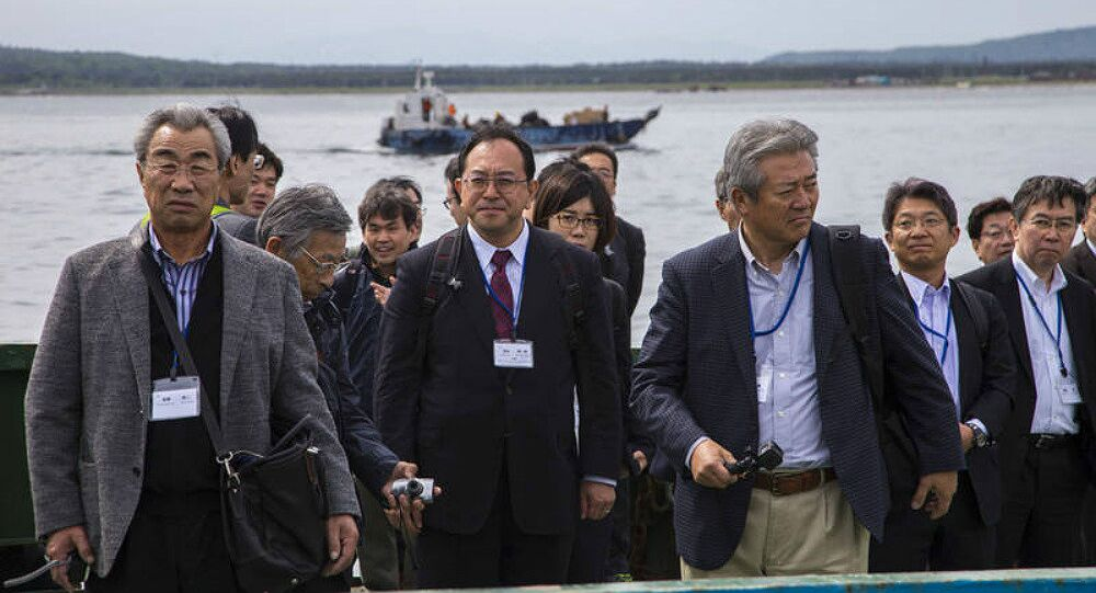 A Japanese business mission on the Kuril Islands. File photo