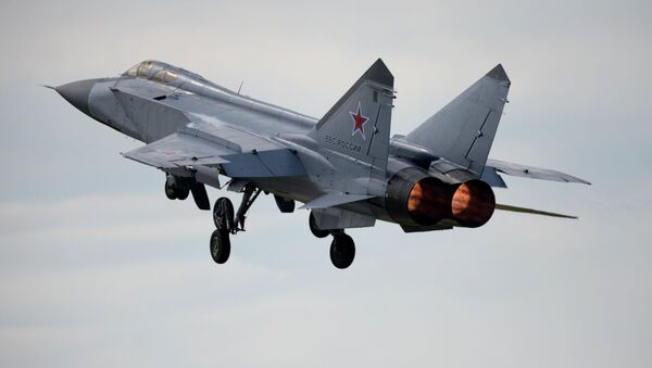 MiG-31 fighter-interceptor jet - Sputnik International