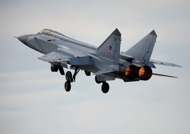 MiG-31 fighter-interceptor jet