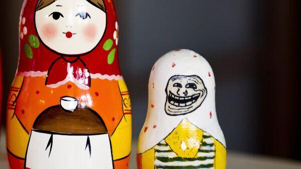 Troll matryoshka - Sputnik International