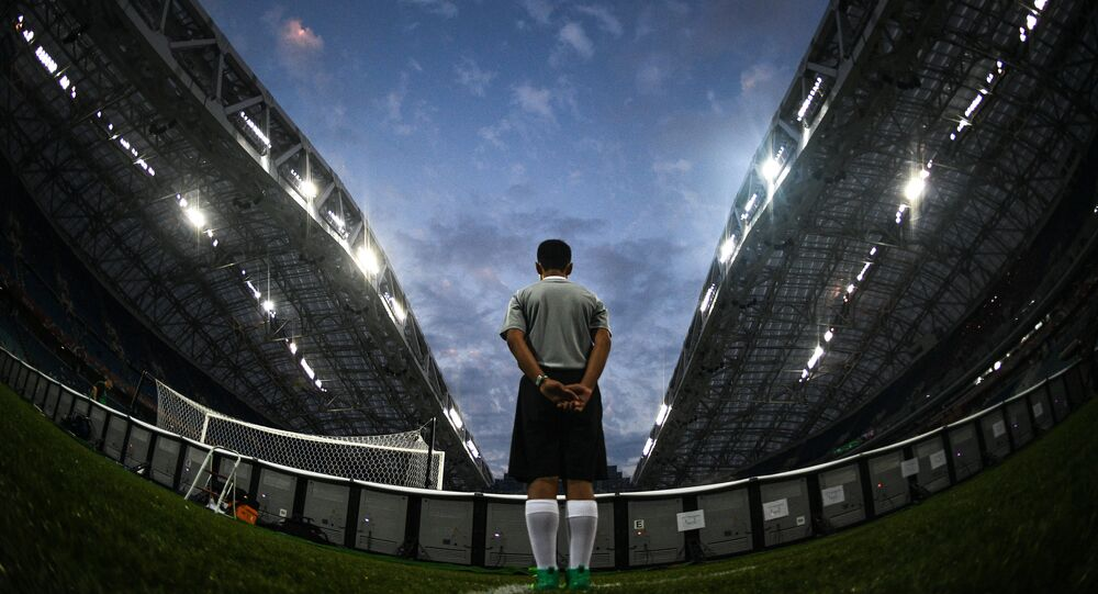 Football. 2017 FIFA Confederations Cup. Germany vs. Mexico