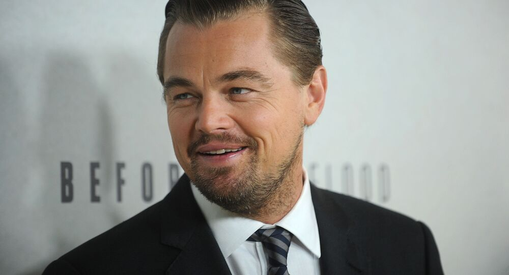 Leonardo Dicaprio attends the premiere of National Geographic Channel's, Before The Flood, at the United Nations on Thursday, Oct. 20, 2016, in New York.