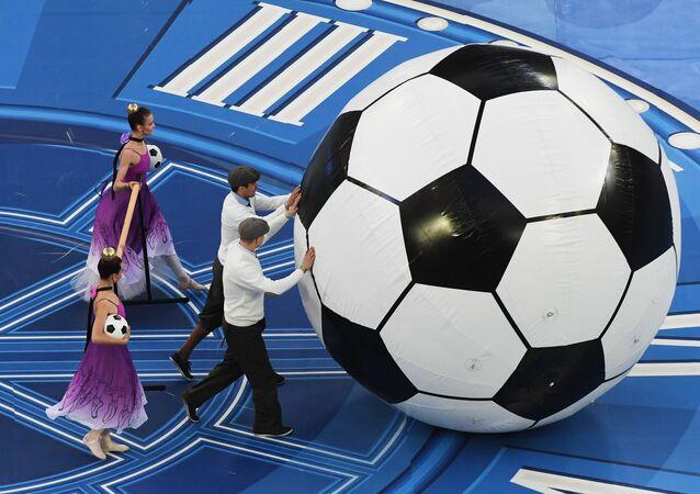 Football. 2017 FIFA Confederations Cup. Closing ceremony
