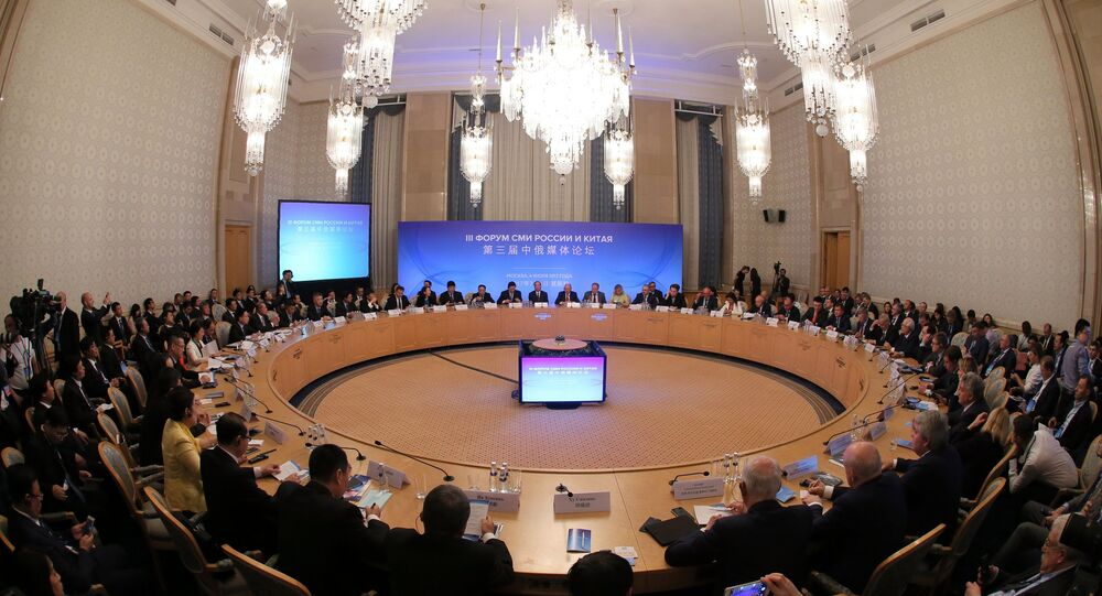 Moscow hosts Third Russia-China Media Forum