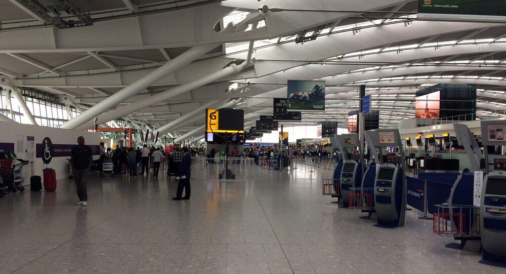 Heathrow airport terminal. (File)