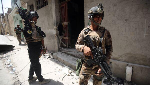 Iraqi Counter-Terrorism Service (CTS) advance in the Maidan district in Mosul. (File) - Sputnik International