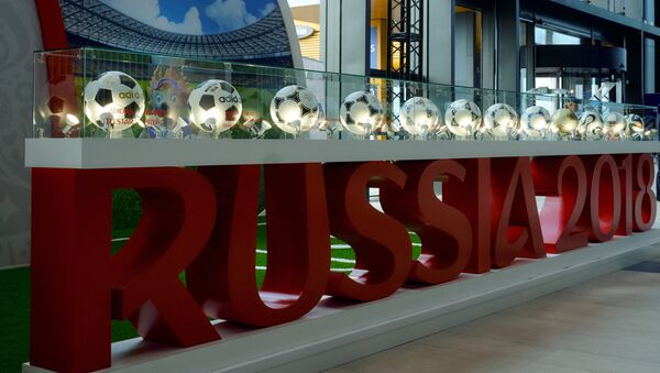The 2018 FIFA World Cup stand - Sputnik International
