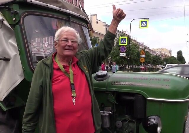 Tractor Trip From Germany to Russia