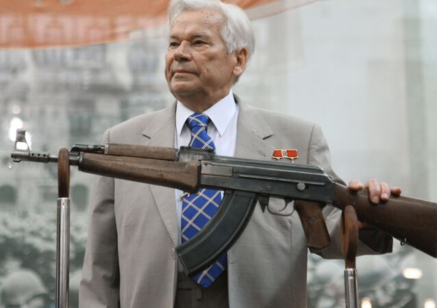 Legendary Russian gun-maker Lieutenant General and Hero of Socialist Labor Mikhail Kalashnikov attended official function marking the 60th anniversary of developing the AK-47 assault rifle.