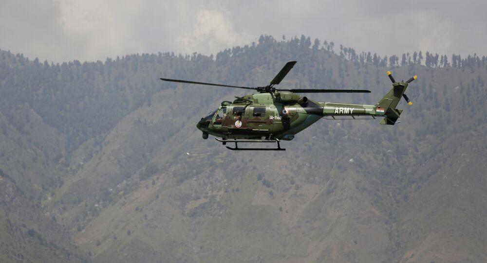 File Photo of India Military Chopper