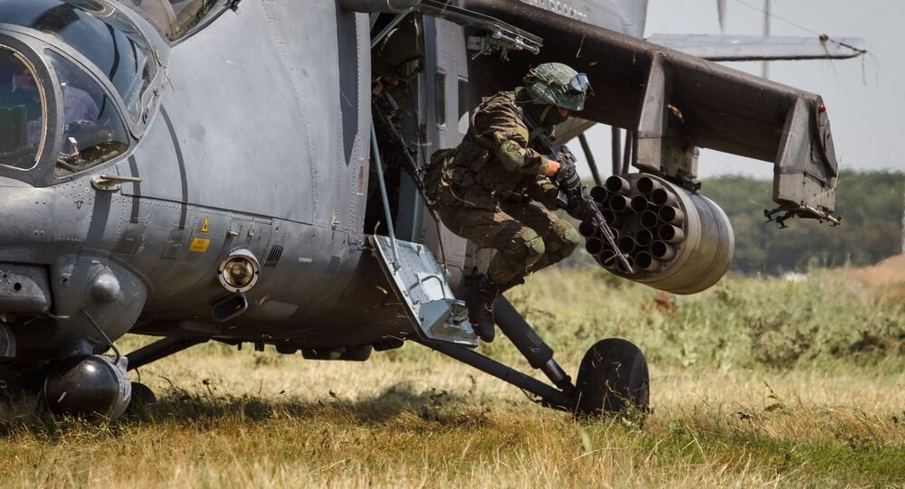 Russian special forces. File photo