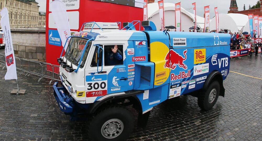 2017 Silk Way Rally kicks off in Moscow