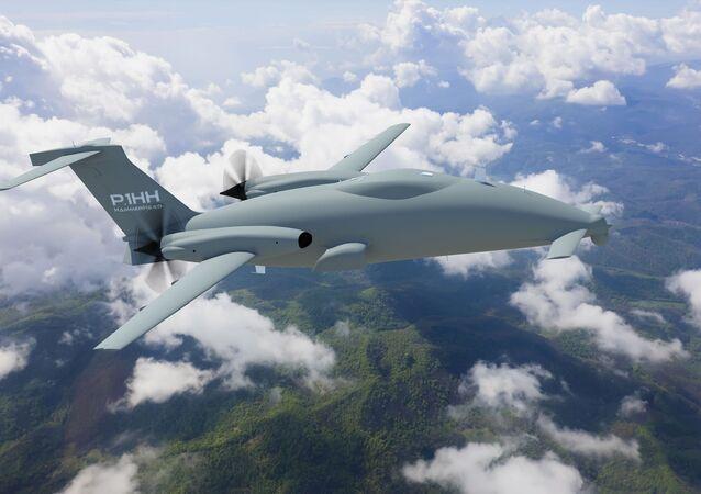 The Piaggio Aerospace Hammerhead UAV.
