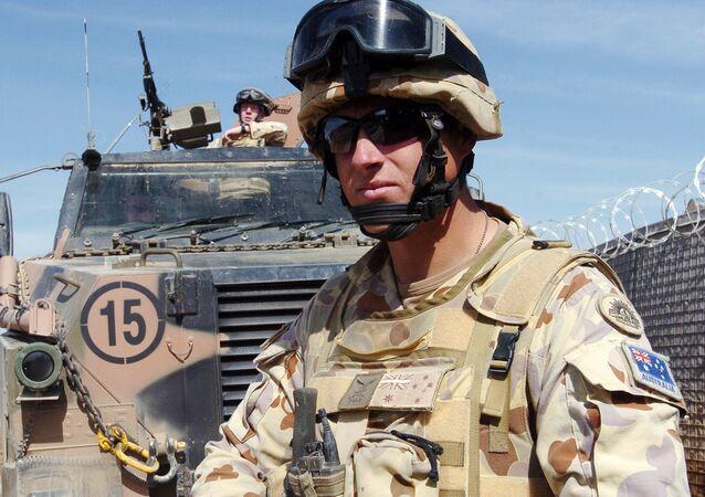 Australian troops in Afghanistan (File)